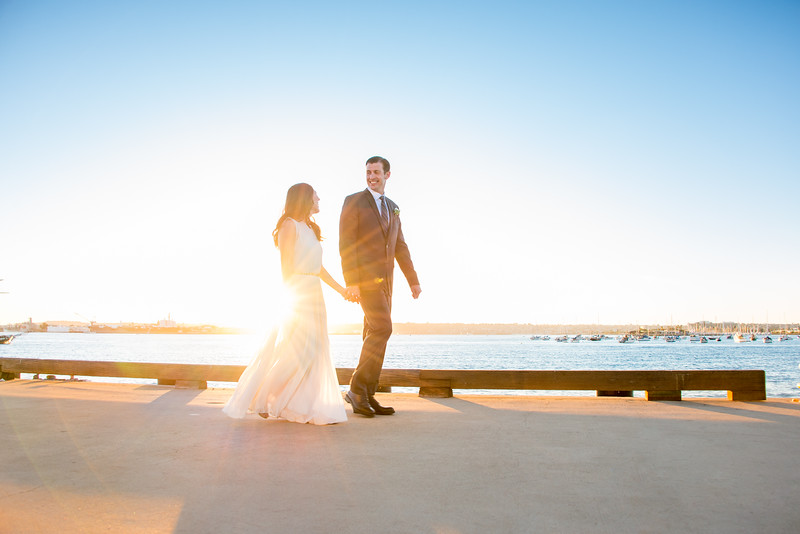 San Diego County Administration Building Wedding - San Diego Bay Waterfront Embarcadero